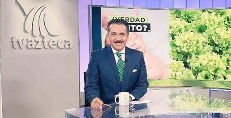 """Después de 20 años, Jorge Zarza se """"despide"""" de TV Azteca"""