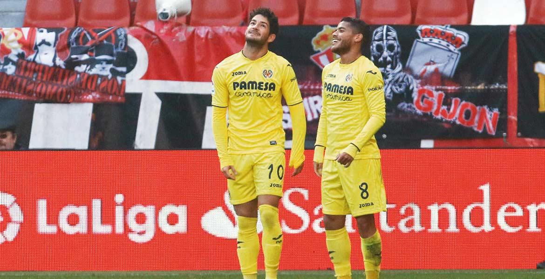 El mexicano, Jonathan Dos Santos, colabora con un gol, de nueva cuenta, por lo que Villarreal escala posiciones