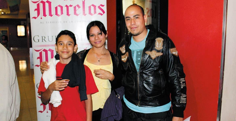Diego Gaytán, Alma Castro y Arturo Barrios