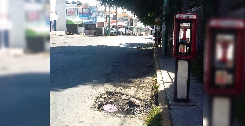 Mantenimiento. Autoridades capitalinas rehabilitarán las calles y avenidas con asfalto.