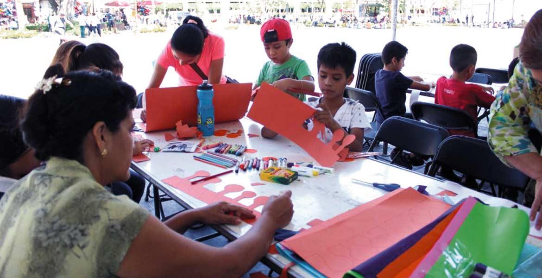 Entretenidos. En fin de semana, la Ecozona tiene actividades para los más pequeños de la familia. Cualquiera puede participar gratuitamente.