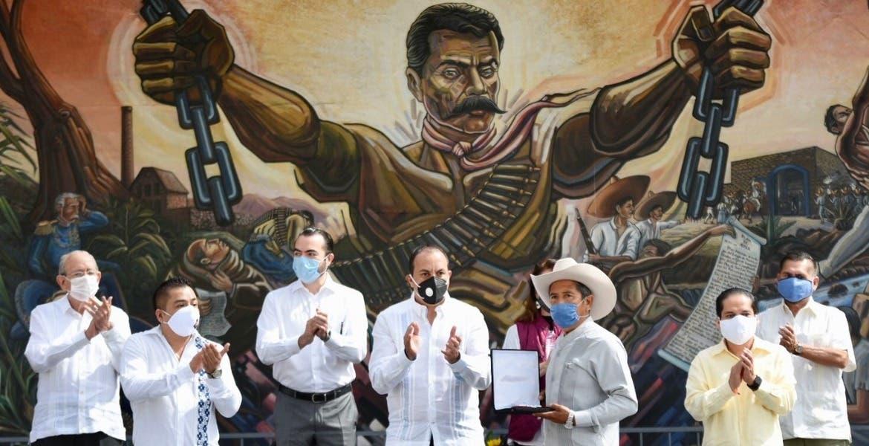 El Gobernador Cuauhtémoc Blanco reafirmo su compromiso con el campo morelense