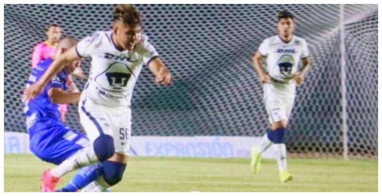 El futbolista morelense Carlos Ochoa vino de la banca para darle el triunfo a Pumas