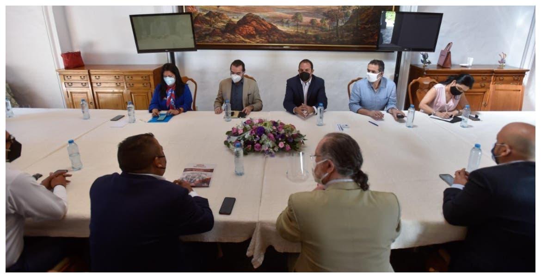 El gobernador Cuauhtémoc Blanco se une a empresarios para rescatar economía de Morelos