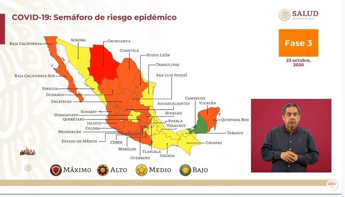 Morelos conserva el semáforo amarillo COVID-19 por 2 semanas más