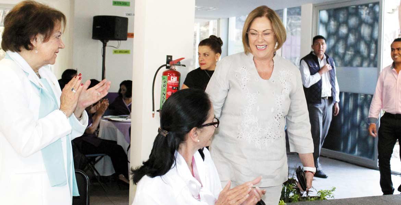 Tema. Elena Cepeda, presidenta del DIF Morelos llama a terminar con la cultura del abuso.