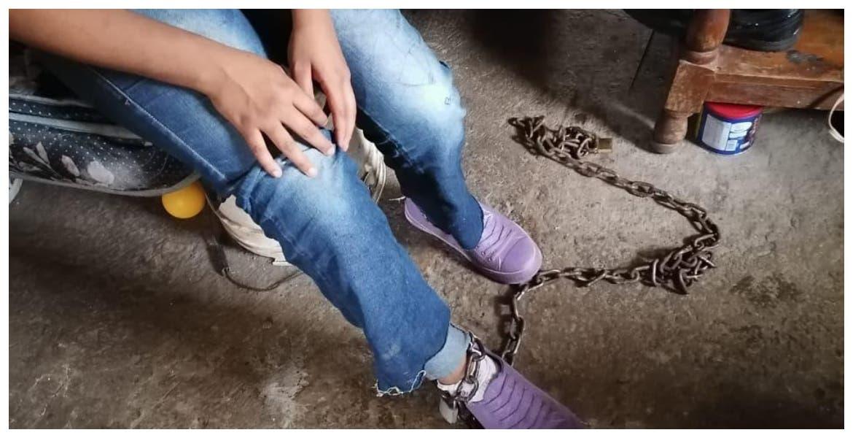 Encadenaba mujer a su hija en Cuernavaca, Morelos