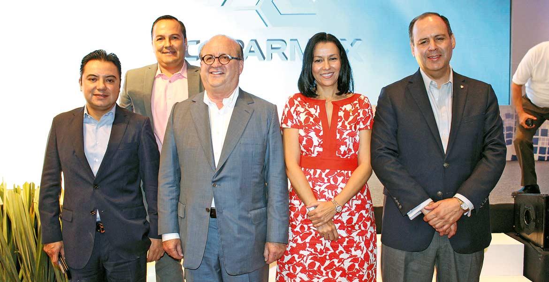 Alberto Sánchez, Juan Carlos Salgado, Graco Ramírez, Jazmín Bastidas y Gustavo de Hoyos.