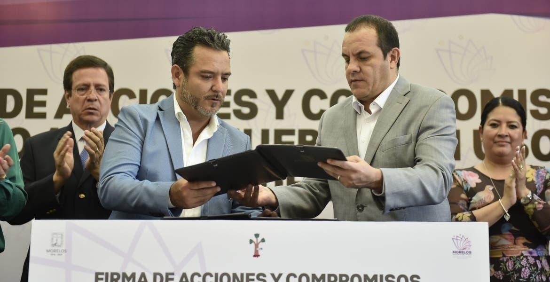 Entregan nueve inmuebles al Ayuntamiento de Cuernavaca