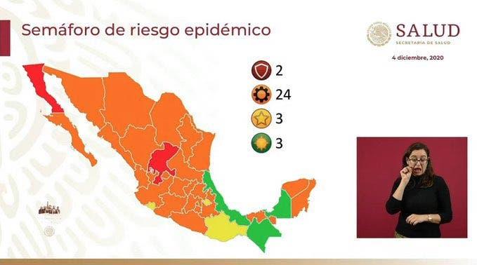 OFICIAL: Morelos regresa al semáforo naranja por COVID19