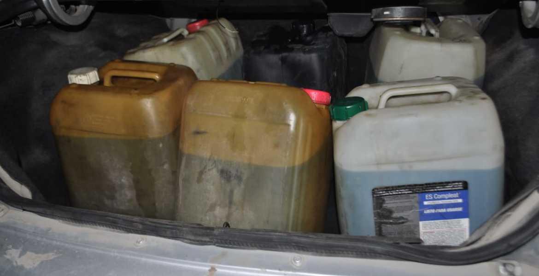 Es Detenido En Jiutepec Por Llevar Garrafas Con Gasolina En Su Auto Diario De Morelos