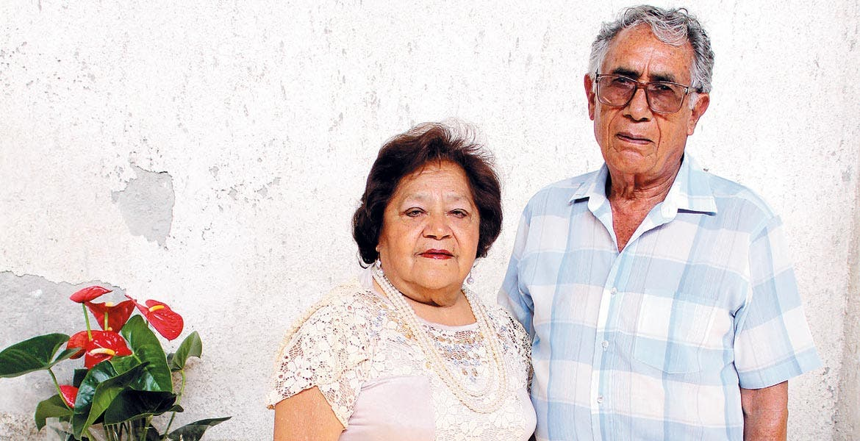 Esperanza Lara y Rigoberto Sánchez.