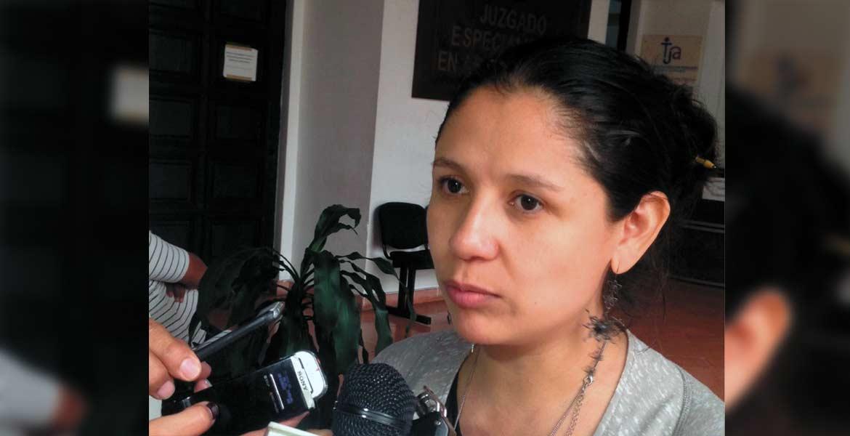 Fabiola Erreguín, coordinadora de Igualdad del TUJA.