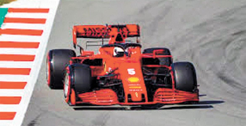 Ferrari lideró la jornada tras los inconvenientes de Mercedes
