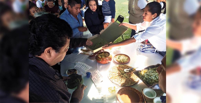 Muestra gastronómica. Fueron 30 los platillos que participaron en el festival.