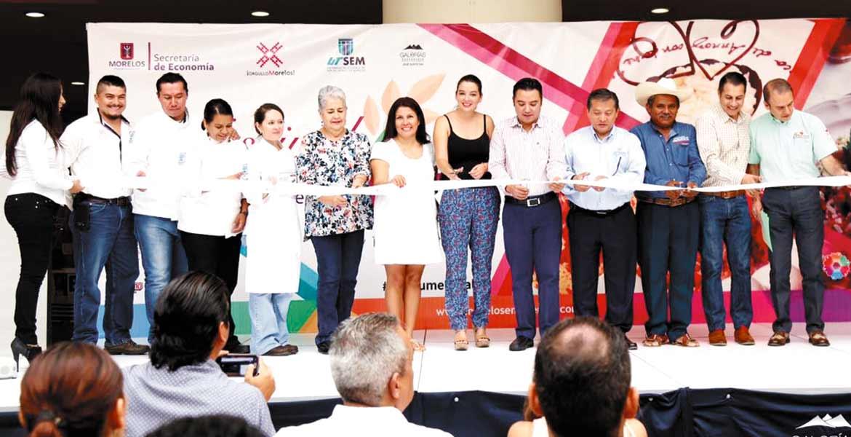 Gastronomía. Diversas marcas de arroz originario de Morelos exponen en conocida plaza del oriente de la ciudad