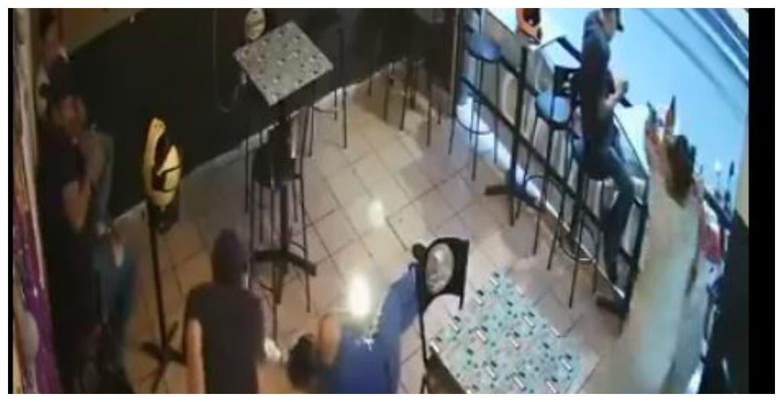 Filtran VIDEO de ataque de bar en Jiutepec que dejó un muerto y 3 heridos