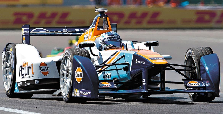 Salvador Durán. El morelense finalizó en la posición 16 de la carrera.