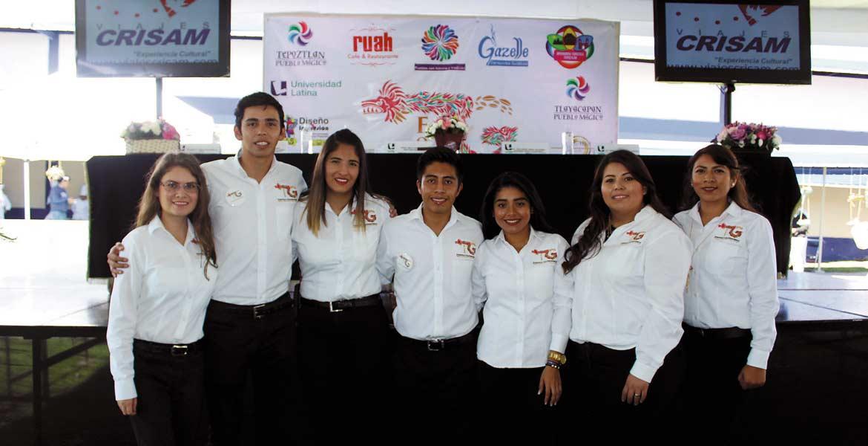Dafne Gómez, Alexis y Eva Hernández, Iván García, Joana Sánchez, Itzel Pinzón y Karen Cortés.