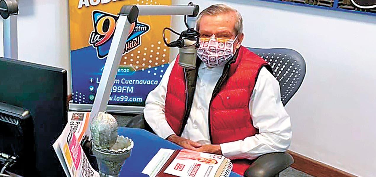 """El """"Profe Terrones"""" propone impulsar la creación del Instituto de Pensiones en Morelos"""