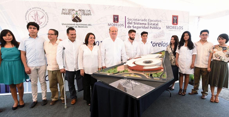 Diseño universitario. Estudiantes de la Facultad de Arquitectura de la UAEM fueron los encargados de elaborar el proyecto.