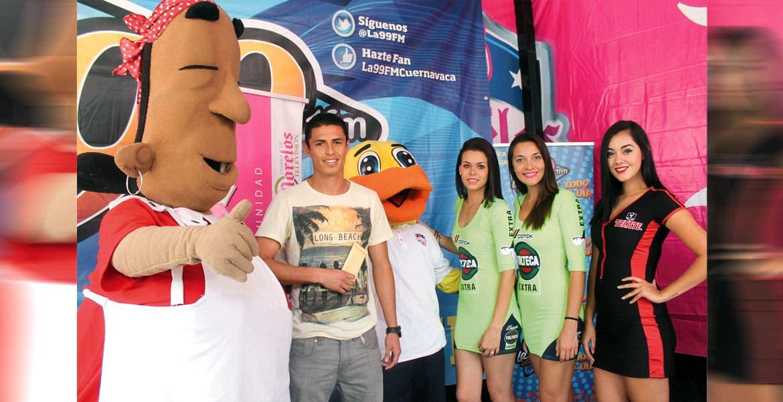 Miguel Morales. El delantero fue el goleador de la Copa Morelos 2016.
