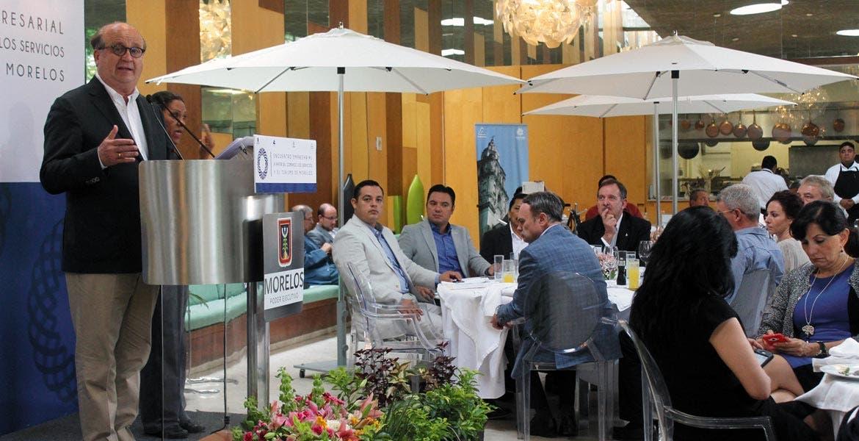 Avance. El Gobernador Graco Ramírez reafirmó ayerque la entidad es segundo lugar nacional en desarrollo industrial y que Cuernavaca se encuentra entre las ciudades con menor tasa de desempleo.