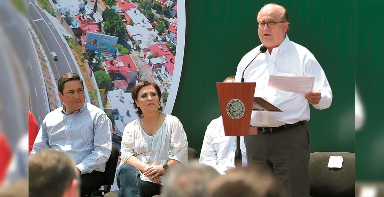 Intervención. En su mensaje, el Gobernador Graco Ramírez dijo que con la obra ganan los morelenses y los estados vecinos