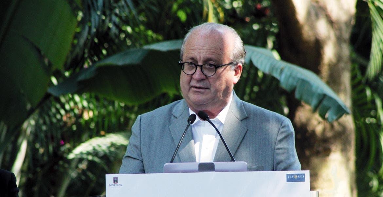 Temas. El jefe del Ejecutivo, Graco Ramírez, se refirió a la contaminación que generan las unidades, y sobre el mejoramiento de las condiciones laborales de operadores.