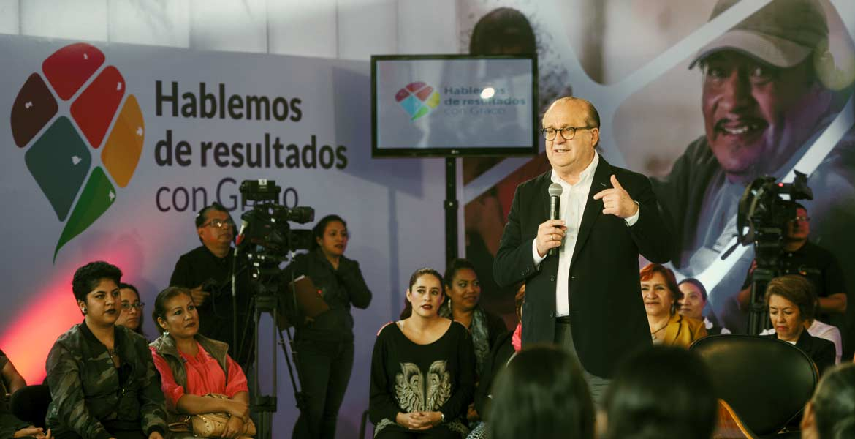 Beneficios. En la residencia Oficial, el Gobernador Graco Ramírez se reunió con mujeres, quienes dieron testimonio de los beneficios que han obtenido de los distintos programas de gobierno