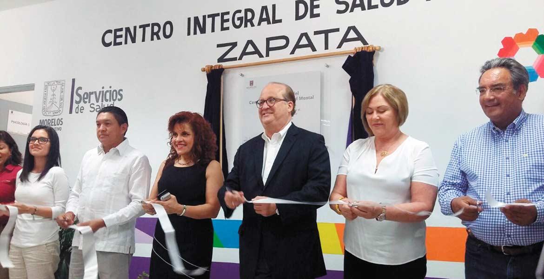 Infraestructura. Con una inversión de 3.7 mdp, ayer fue inaugurado el cuarto Cisame por autoridades estatales encabezadas por el Gobernador Graco Ramírez, y el alcalde de Emiliano Zapata.