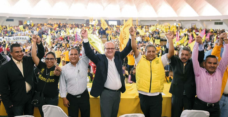 Ante el arranque del proceso electoral en el Estado de México, Graco Ramírez exhortó a la militancia del Partido de la Revolución Democrática (PRD), a conformar un gobierno de coalición que agrupe a los mejores hombres y mujeres, sin importar el partido de procedencia.