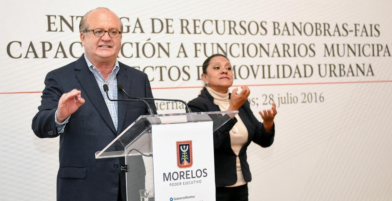 Invitación. Graco Ramírez pidió a los municipios restantes a solicitar los créditos del FAIS.