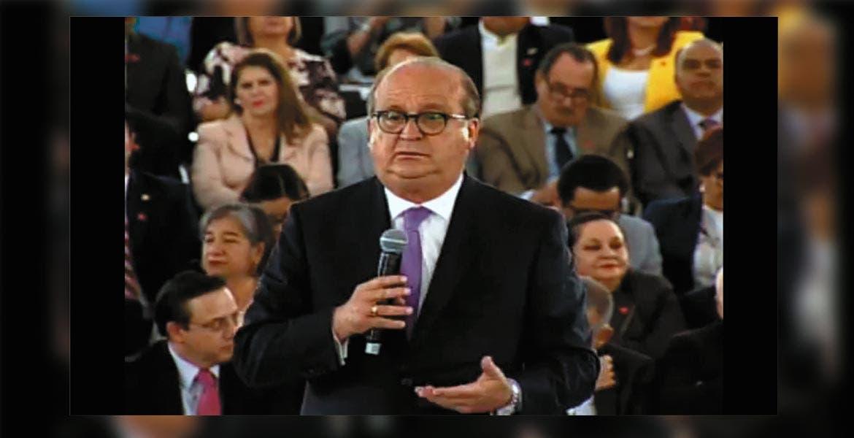 Evento. El Gobernador Graco Ramírez durante la presentación del nuevo modelo educativo nacional