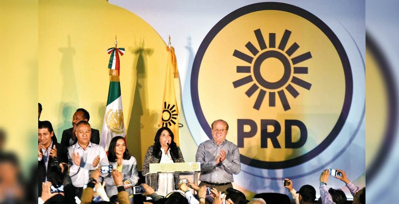Participación. El Gobernador Graco Ramírez durante la Convención Nacional Municipalista del PRD.