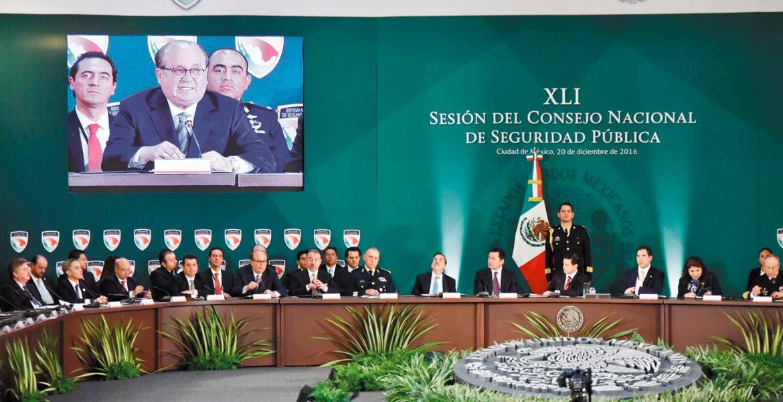 Postura. El Gobernador Graco Ramírez, presidente de la Conferencia Nacional de Gobernadores (Conago), reafirma que la tarea de los mandatarios es garantizar la seguridad pública.