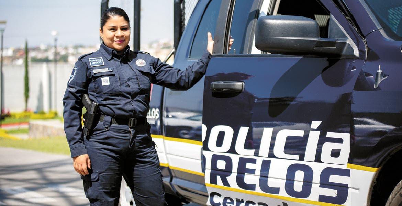 Destacadas. Mujeres con una trayectoria destacada son las que se encuentran al frente de la Policía Morelos en los municipios de Temixco, Jiutepec y Xochitepec.