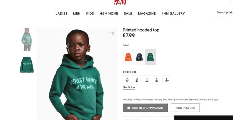 The Weeknd corta con H&M tras foto ofensiva