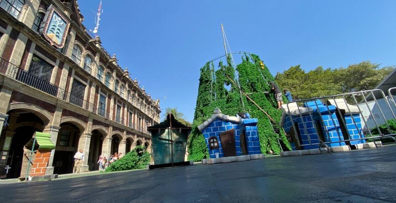 Habrá en Cuernavaca Villa Navideña,  árbol de Navidad y pista de patinaje