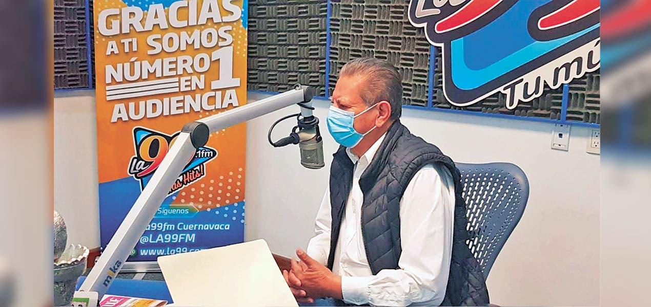 Contribuye Hermilo Mejía en prevención de COVID19 en Morelos