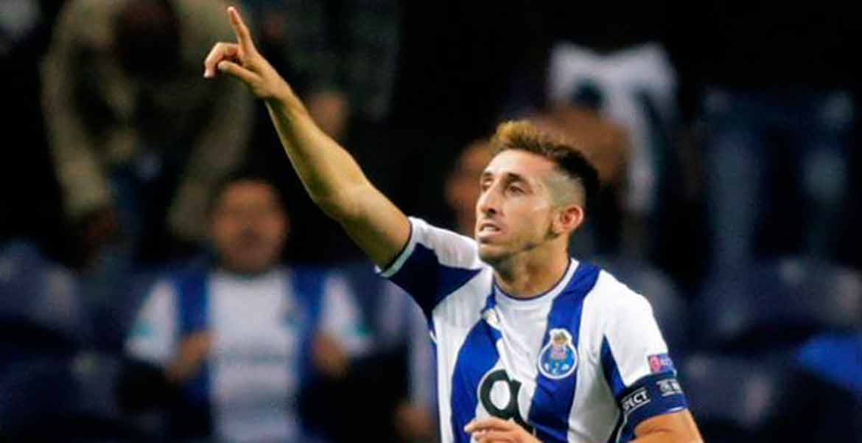 'Congelan' a Héctor Herrera en Portugal