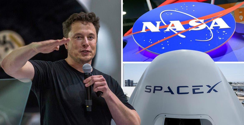 Histórico lanzamiento tripulado el día de hoy de SpaceX, de Elon Musk