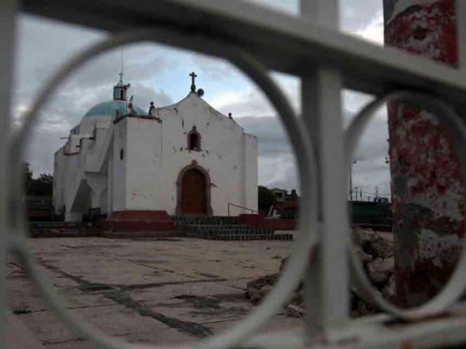 Registra el Estado de México 199 templos afectados por el sismo