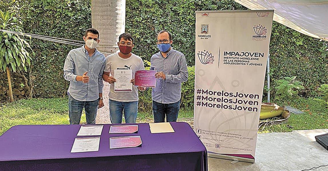 Especializan a Jóvenes Construyendo el Futuro en Morelos