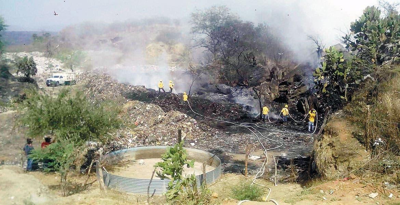 Incidente. El incendio se reinicio el día 23 de febrero, previo a que ya había sido controlado.