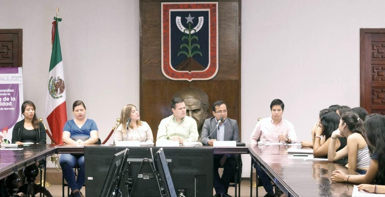 Evento. En Casa Morelos el Impajoven premió los proyectos dentro del programa Líderes Juveniles, Promoviendo la Cultura de Legalidad.