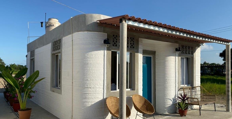 Imprimen casas con tecnología 3D en municipio de Tabasco