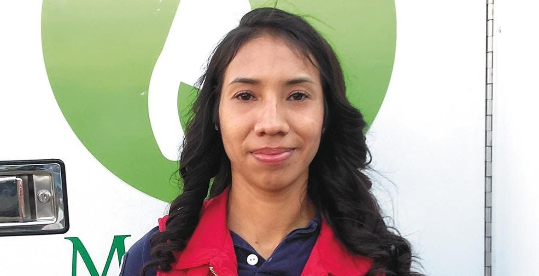 Gestión. Irma Lilia Rosas, titular de Bienestar Social, aseguró que los recursos provienen del IEBEM.
