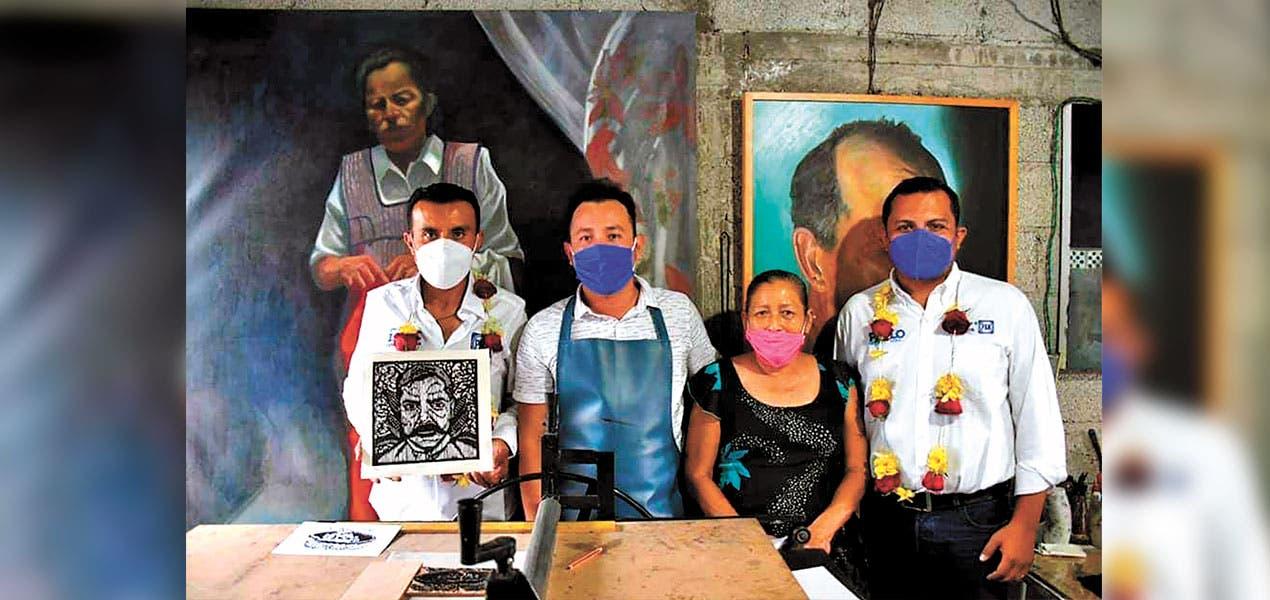 Reconocen vecinos de Ayala trabajo de Isaac Pimente...