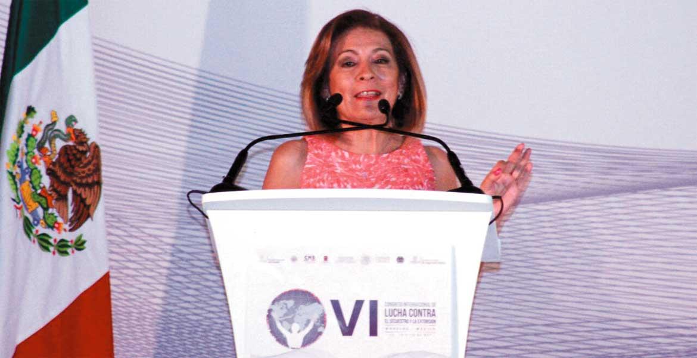 Isabel Miranda de Wallace, presidenta de Alto al Secuestro